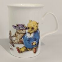 Roy Kirkham Teddy Bears Breakfast Tea Party Cup Mug England Fine Bone China