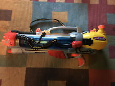 2000 LARAMI SUPER SOAKER CPS 4100 Water Blaster Squirt Gun tested WORKING