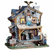Lemax 05004 HAUNTED CABIN Spooky Town Building Halloween Decor Retired Limited I