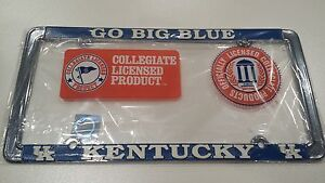 Kentucky Wildcats Metal License Plate Frame - Officially Licensed Car Truck