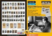 WW II Original German newspapers ( 1935 - 1945 ) - cover 1/35 scale