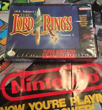 J.R.R. Tolkien's The Lord of the Rings, Vol. 1 Snes Nintendo Complete!