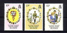 Falkland Insel Michelnummer 362 - 368  postfrisch (Royal Wedding 57)