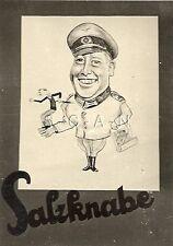 WWII German Large RP- Soldier- Wall Art- Comic- Humor- Slat Boy- Map- Hat- Dance