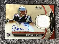 2011 Bowman Sterling Relics Shane Vereen #BSAR-SV Rookie Auto Patriots