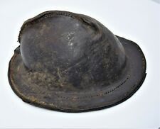 Antique Military tar leather hat helmet Revolutionary war - 1812, American navy