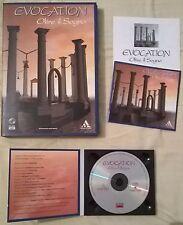 EVOCATION - OLTRE IL SOGNO, PER PC CD-ROM ITALIANO, RARO, DA COLLEZIONE