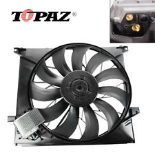 Cooling Fan 163500 0293 0393 fit Mercedes Benz Ml 55 Amg 00 - 03 Ml 500 02 - 05