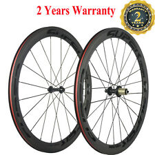 50mm Bike Wheelset Carbon Clincher Wheels Road Bike Race Wheel 700C Bicycle R13