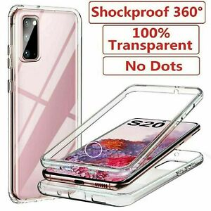Hybrid 360� CLEAR Case Cover For Samsung Galaxy S20 S21 PLUS ULTRA  A32 52 42 12
