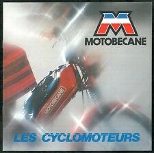 Catalogue Cyclomoteurs MOTOBECANE 1982 VELOSOLEX - M11 - 41 - 51 - M16 - 88 - 89