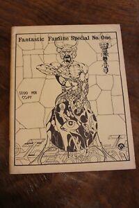 Vintage Fantastic Fanzine Special #1 Dick Giordano Sketch