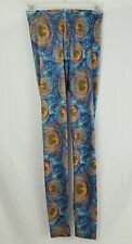 Peacock Walking Candy Women's Size S leggings, NEW