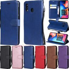 For Samsung Galaxy A70 A50 A40 A30 A20 M30 Wallet Case Flip Leather Phone Cover