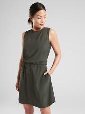 Athleta Sol Dress- Black Olive Sz 8 M Medium
