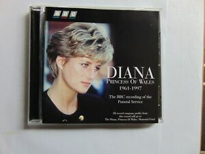 Diana, Princess of Wales - BBC recording of the Funeral Service - CD - FREE POST