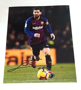 LIONEL MESSI foto firmata e Certificata Hand Signed with CAO.