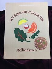 The Moosewood Cookbook 15 Year Anniversary New-Revised-Edition Vegan Vegetarian