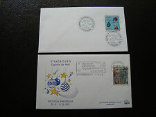 FRANCE - 2 enveloppes 1993 (cy38) french