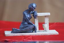 Last drop - exceptional modern ceramic sculpture, unique, signed, excelent gift