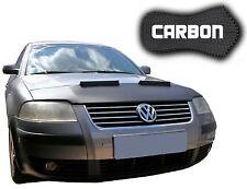 Haubenbra VW Passat 3BG CARBON Optik Tuning Hood Bonnet Front Mask Auto Maske