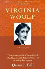 VIRGINIA WOOLF : A BIOGRAPHY by Julia Briggs and Quentin Bell (1972, Paperback,