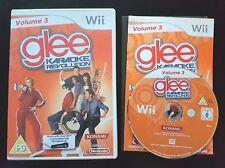 Glee Karaoke Revolution: Volume 3 - Nintendo Wii / Wii U - Fast P&P - Vol, Sing