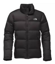 The North Face Men's Nuptse 700 Down Jacket Large In Black W/ Silver Logo BNWT