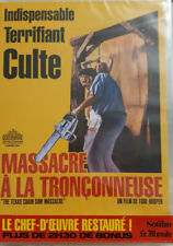 MASSACRE A LA TRONCONNEUSE RESTAURE + BONUS DVD NEUF SOUS BLISTER REFC9