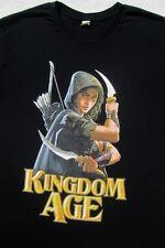 KINGDOM AGE role playing video game MEDIUM promo T-SHIRT