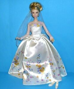 *Neuwertig*Original Mattel Barbie Disney Cinderella Weding Day,Collector Doll*