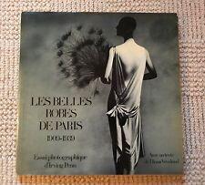 Rare & ICONIC picture book LES BELLES ROBES DE PARIS Irving Penn Diana Vreeland