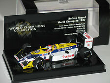 Williams FW11B  World Champions 1987  Piquet -Rare  F1 1/43 minichamps/ NO spark
