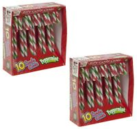20 x Christmas Tree Peppermint Candy Canes Decoration Sweets Box Gift Stocking