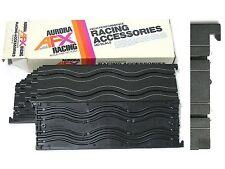 "6pc 1971 Aurora USA AFX 9"" Wiggle Ice Squiggle HO Slot Car Track #2501 Unused A+"