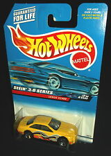 Hot Wheels 2000 #011 Seein' 3-D Series #3 of 4 Lexus SC400 Yellow Orange 3SPs