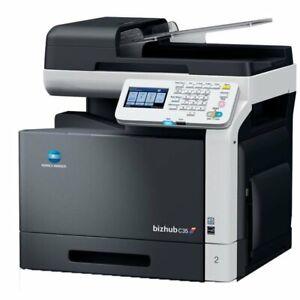 Konica / Minolta Bizhub C 35 Multifunktions Farblaserdrucker 1,5 GB / 500 GB HD