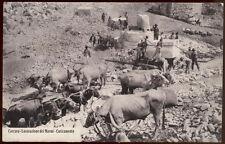 cartolina CARRARA lavorazione dei marmi-caricamento