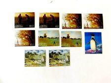 Bhutan #96//966 & #104c, Mint/VF, Paintings/Bird Issues, 1968 & 1969