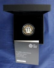 """2015 moneda de plata prueba Piedfort £ 2 """"Magna Carta"""" en estuche con certificado de autenticidad (C5/3)"""