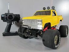 Vintage Tamiya R/C 1/10 Ford Blackfoot Truck with Futaba ESC Sponge Tires