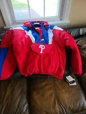 New listing Vintage Philadelphia Phillies Starter Pullover Jacket Size XL Original tags!