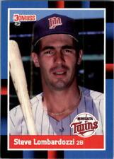 1988 Steve Lombardozzi Donruss Baseball Card #196