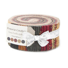 "Moda Fabric-Prairie Cactus - By Kansas Troubles- Jelly Roll 2 1/2"" Strips"