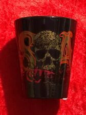 Sons Of Anarchy Black SOA Skull Shot Glass! New!