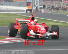"Michael Schumacher~Formula 1~Racer~Ferrari~Car Racing~Champion~Photo~16""x 20"""