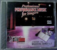 Wedding Songs [CD + G]  Karaoke (CD, Priddis) NEW