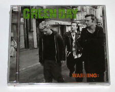 GREEN DAY - WARNING CD FROM 2000, NEW AND FACTORY SEALED, PUNK ROCK