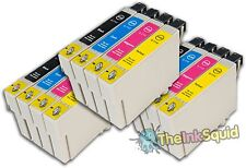 12 T0711-4/T0715 non-oem Cheetah Ink Cartridges fit Epson Stylus BX600FW BX610FW