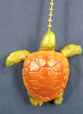 Green Sea Turtle Ceiling Fan or Light Pull Tropical